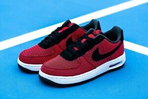 économiser 3ee40 0e4ac Details about Men's Nike Air Force 1 Elite TXT in Crimson / Black
