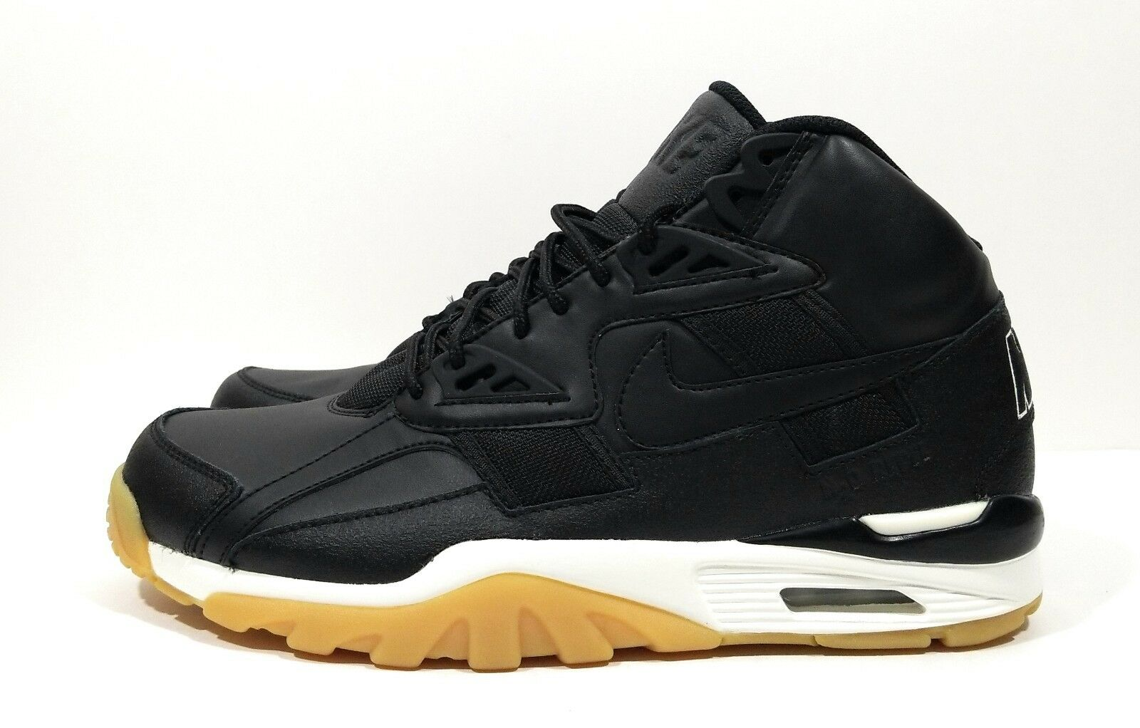 Nike Air Trainer SC Shoes Winter Bo Jackson Mens Shoes SC Black Gum Sole Size 9 1ee599