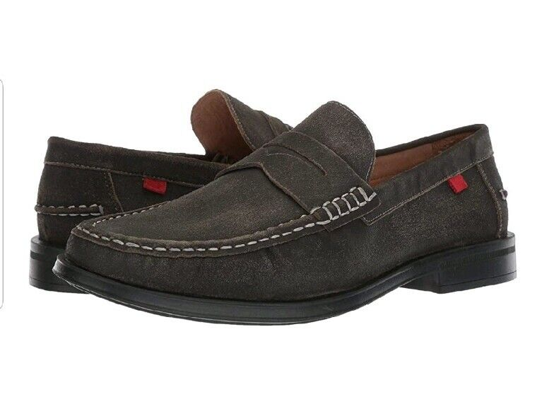 Men's Loafer shoes Marc Joseph NY Leather Made in Brazil Cortlad Loafer Penny