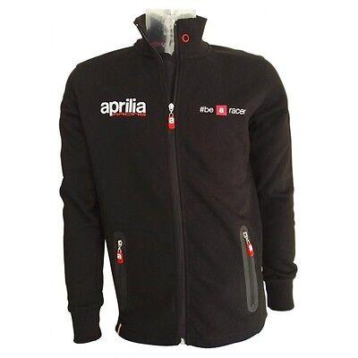 2017 Official Aprilia Racing Be A Racer Black Sweatshirt - Do.