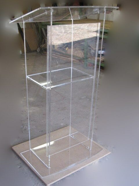 Clear style Acrylic Podium Lectern