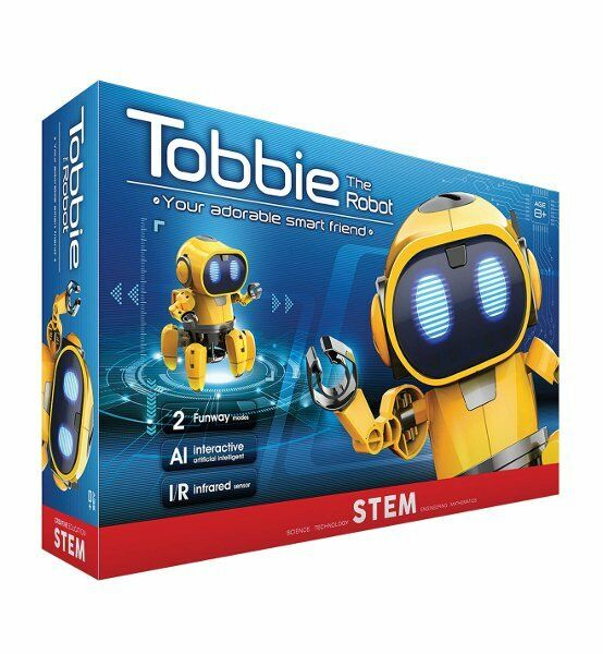 TOBBIE the AI ROBOT Construction Kit Interactive Smart Robot STEM