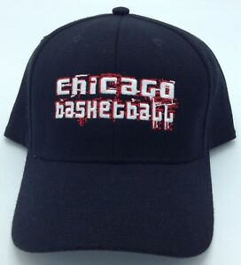 b2caaced74e Image is loading NBA-Chicago-Bulls-Adidas-Structured-Curved-Brim-Stretch-