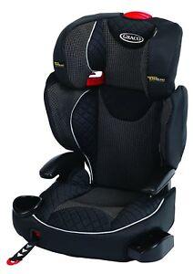 Image Is Loading Affix Highback Booster Group Stargazer Graco Adjustable Headrest