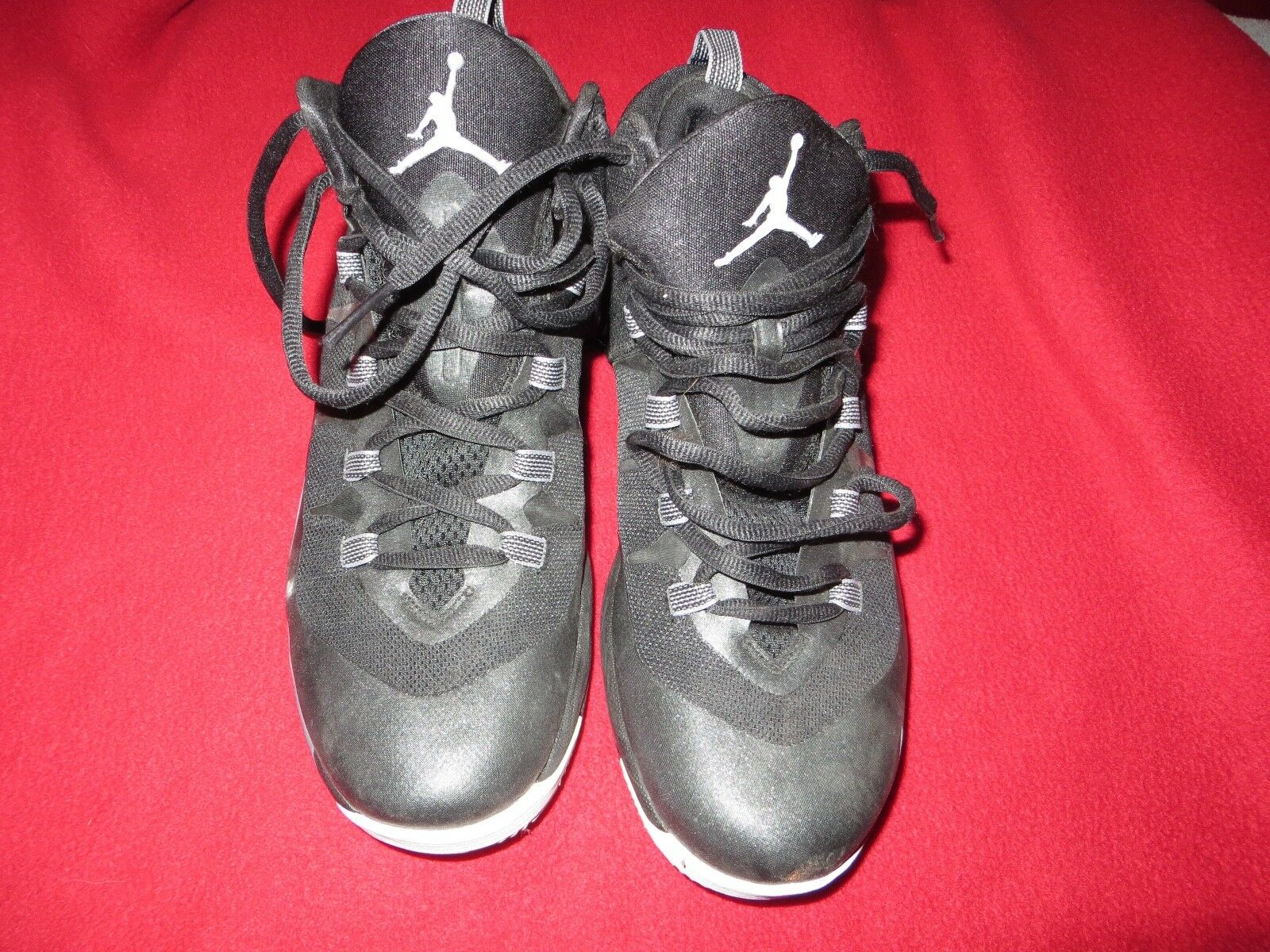 Nike Nike Nike Jordan Super.Fly 2  Black Basketball Casual shoes 599945-003 Size 9 4ea62c