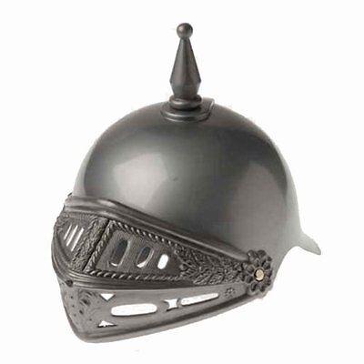 New Plastic Adult Knight Helmet Hat for Costume Dress-up
