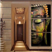 Modern Abstract Huge Wall Art Oil Painting On Canvas buddha No Frame