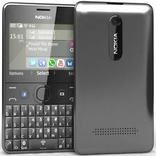 BRAND NEW NOKIA ASHA 210 BLACK QWERTY KEY BOARD UNLOCK WHAT'S UP FAC BOOK CAMERA