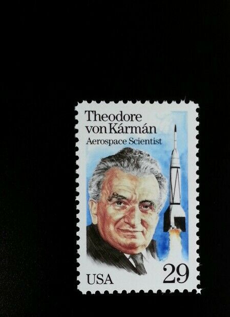 1992 29c Dr. Theodore Karman, Aerospace Scientist Scott