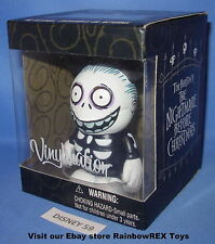 "DISNEY VINYLMATION 3"" THE NIGHTMARE BEFORE CHRISTMAS BARREL MINT IN BOX"