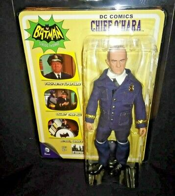 8 INCH ACTION FIGURE MOSC NEW FIGURES TOY Batman 1966 Tv Series 5; Chief O Hara