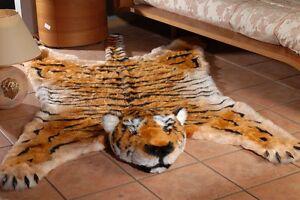 Fake Fur Tiger Skin Tigerskin Rug King Size Large 100 Quot 59