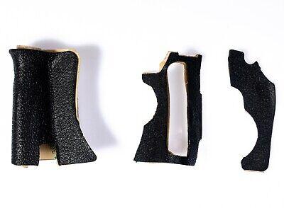 Gummi Körper 3-teiliges Set Abdeckschale Griff Einheit Für Canon 60d 3m Tape &