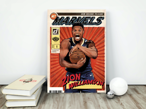 "Zion Williamson Marvels RC - High Quality 11""x17"" Poster!"