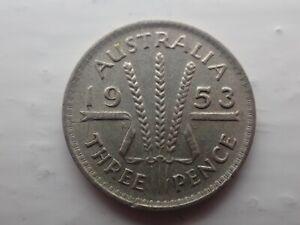 1953-Australian-Threepence-lot-701