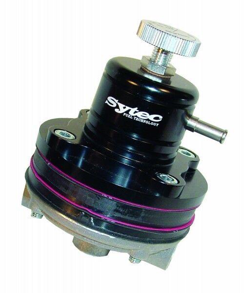 Sytec Fuel Pressure Regulator  1//8nptf MSV000BK BLACK