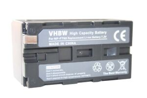 Batterie pour SONY NP-F750 F750SP F930 F950 ACCU