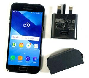 Samsung-Galaxy-A3-2017-16GB-Negro-Desbloqueado-Sim-Libre-Buen-Estado-908