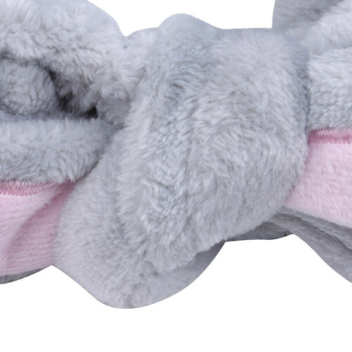 Bunny Ears Shower Wash face Bath Hair Wrap Makeup Headband Hairband Rabbit LC