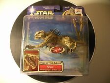 Star Wars Nexu Beast Attack of the Clones Action Figure MOC 2002 Hasbro sealed