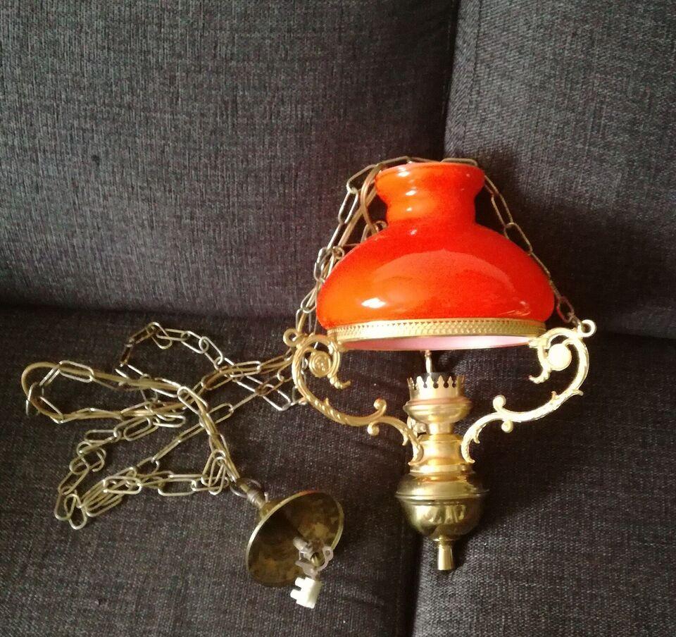 Anden loftslampe, Petroleum loftslampe el