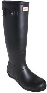 Hunter-Womens-Original-Tall-Wide-Black-Rainboots-8-Wide-711228-Matte-Black