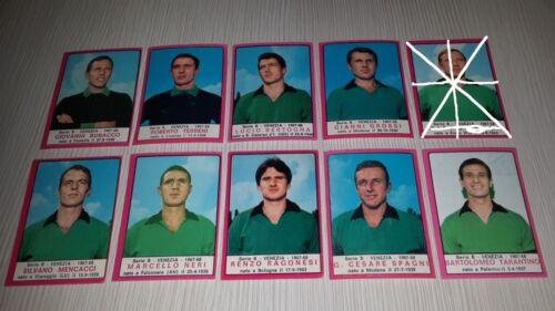 1967-68 Serie B VENEZIA Calciatori Panini SCEGLI *** figurina mai attaccata ***
