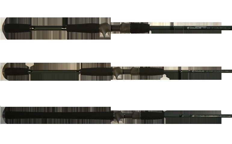 "DOUGLAS DXC CASTING ROD 755F 7'5"" 14-20 LB TEST 5 16-1 OZ"