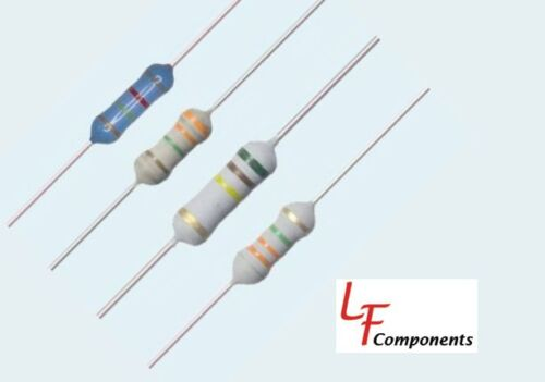 10 Piece Lot 110 Ohm 2 Watt 5/% Carbon Film Resistor CFR200J110-RC
