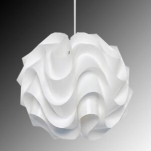 Modern Le Klint 172B Pendant Light White Plastic Shade Suspension