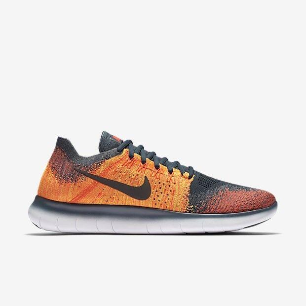 Men's Brand New Nike Free RN Flyknit 2017 Fashion Sneakers