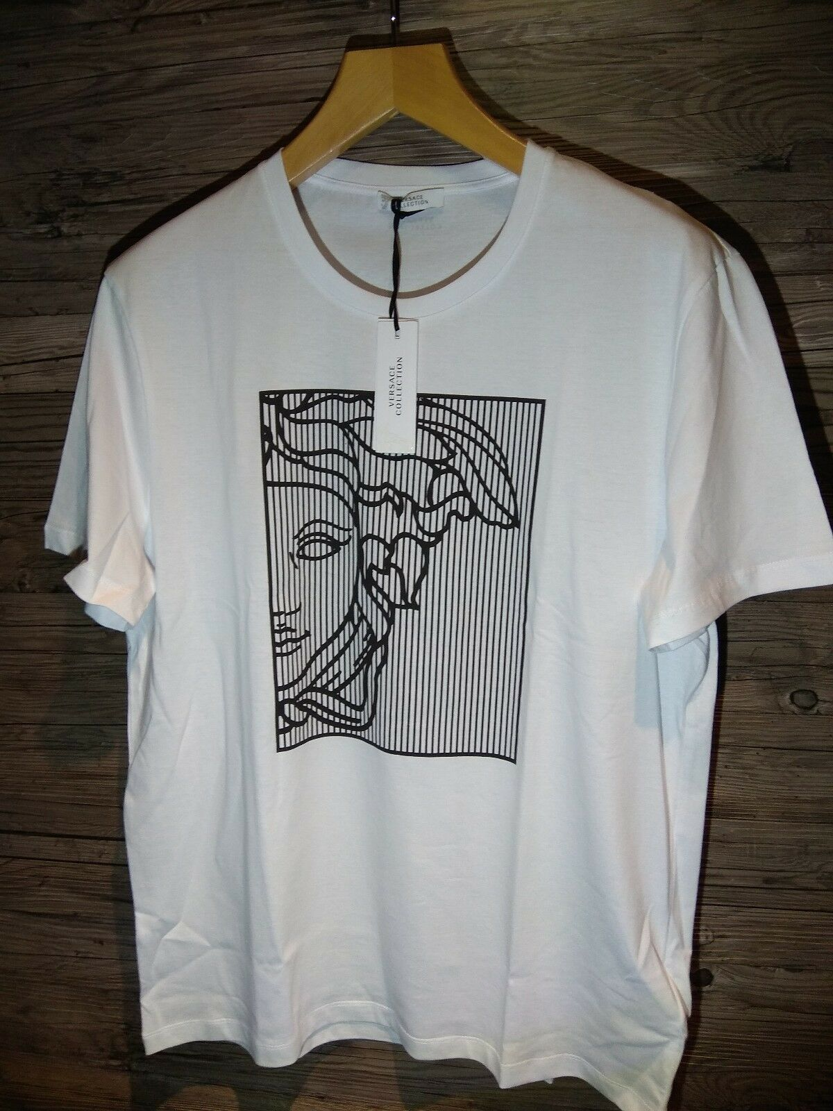 Gianni Versace T-Shirt Medusa XXL weiß