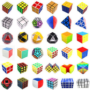 Professional-Ultra-Smooth-Speed-Magic-Educational-Cube-Puzzle-Twist-Toys-AU-2018