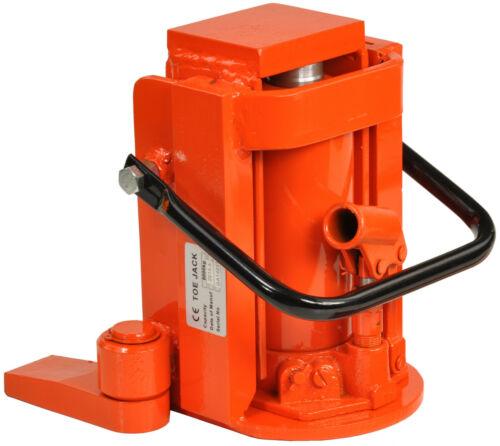 Machines élévateur maschinenlifter Toe Jack Heavy Duty Hydraulique Cric 8ton 00001