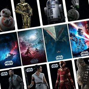 THE RISE OF SKYWALKER STAR WARS OFFICIAL CINEMA MOVIE PRINT PREMIUM POSTER
