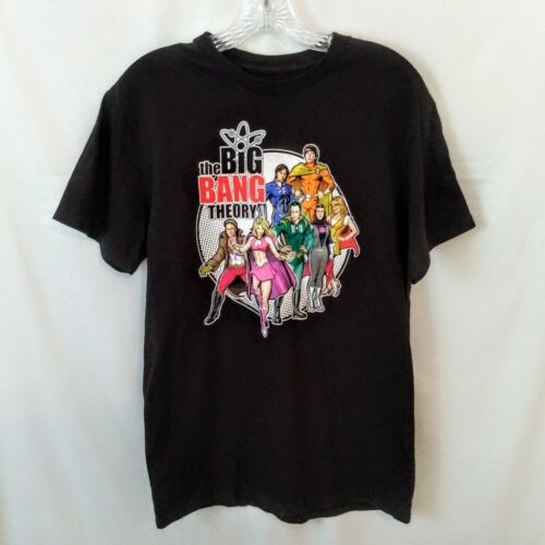 Big Bang Theory Graphic Tee Size M