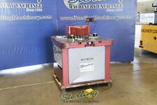 14 X 8 58 Used Amada Heavy Duty Hydraulic Power V Notcher With Coper On Rea
