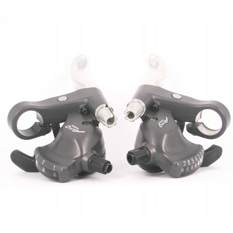 Shimano Alivio 3 x 7 speed  flatbar shifters MC12  21 speed , NOS  promotional items