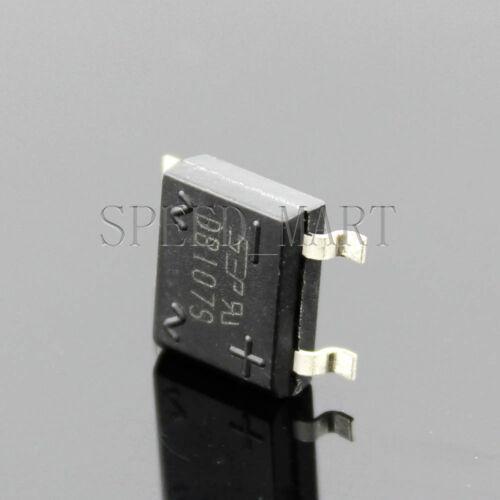 5 PCS NEW DB107S DF10S 1A 1000V SMD Bridge Rectifiers AC change DC Hi-Q