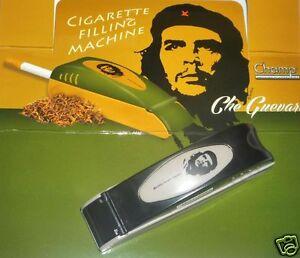 Zigaretten-Stopfmaschine-CHE-GUEVARA-Cigarette-Fill-Mashine-Zigarettenstopfer