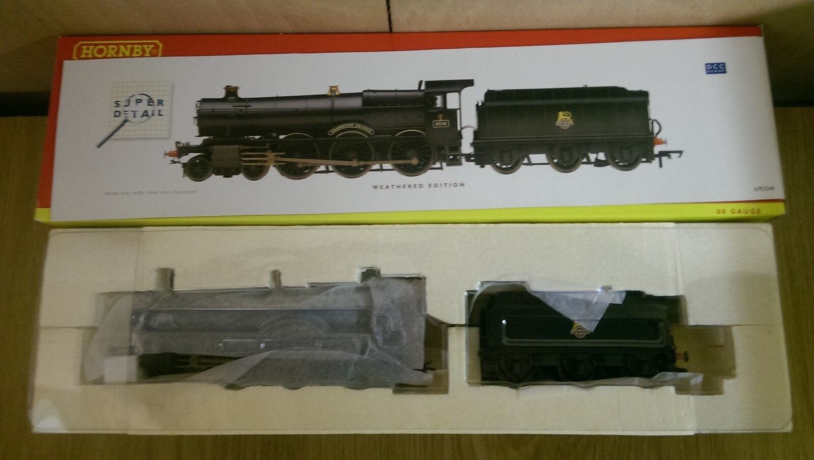 Hornby R2548 BR 4-6-0 Grange Class Frankton Grange Weathered DCC Ready