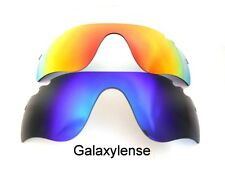 Galaxy Replacement Lens for Oakley Radarlock Path Vented Blue&red Polarized 2ps