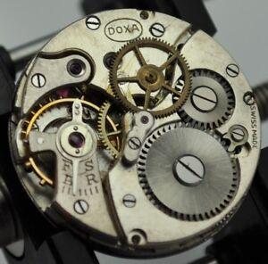 Doxa 14, 10.5''' (ETA 810, 816) Watch Movement original Parts-Choose From List
