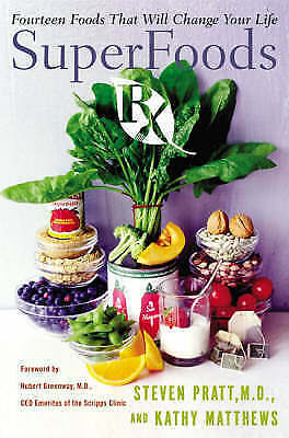 1 of 1 - SuperFoods Rx: Fourteen Foods That Will Change Your Life-ExLibrary