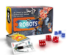 PBL ROBOTS card & dice game *BRAND NEW* Limited Edition
