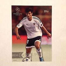 ANDRE GOMES #199 Valencia CF #ed/10 Made 2016 Topps Champions UEFA 5X7 GOLD