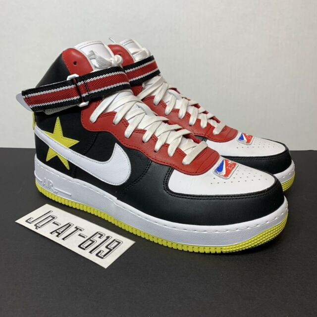 finest selection 889c4 6f1bc Nike Air Force 1 Hi   RT Riccardo Tisci Size 12 Gym Red Yellow-