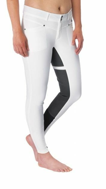 Kerrits Cross Over Full Seat Riding Breeches  - Ladies - WHITE - Different Sizes  find your favorite here