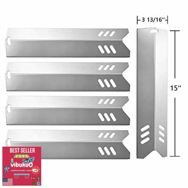 "15"" Gas BBQ Heat Plate Shield/Tent for Uniflame,Backyard ..."