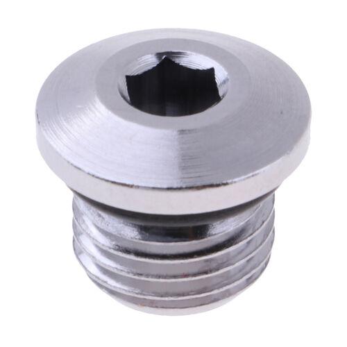 "Premium Port Plug Scuba Diving Regulator Pressure Screw Replacement 3//8/"""